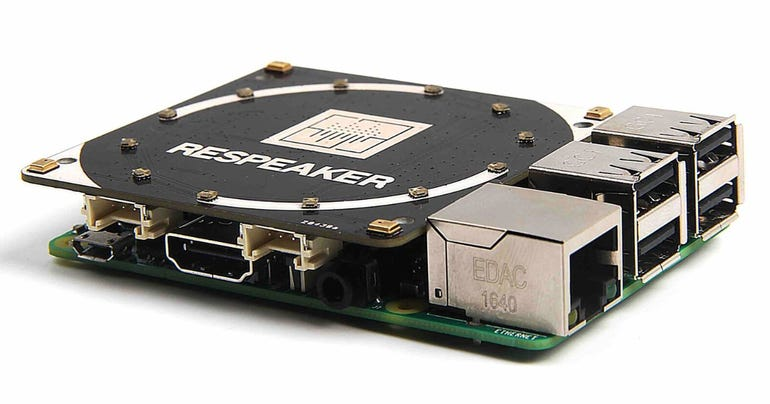 ReSpeaker releases its 4-microphone Raspberry Pi software for voice applications ZDNet