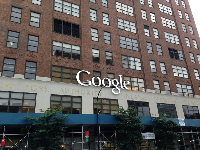 The Google headquarters in New York