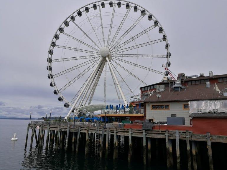 Huawei P9 - Seattle waterfront