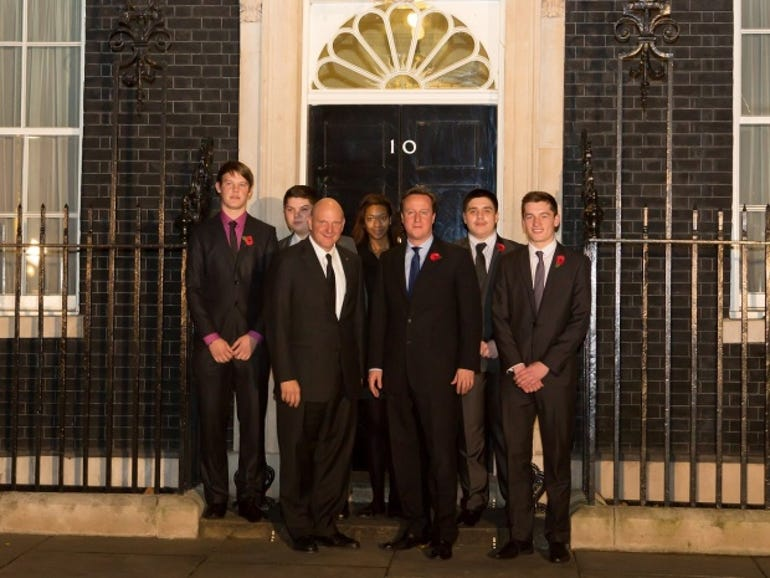 Steve Ballmer visits David Cameron at Downing Street
