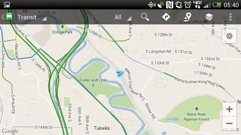 Reason 14: Google Maps Navigation