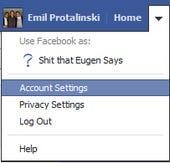 How to download your Facebook account (official)
