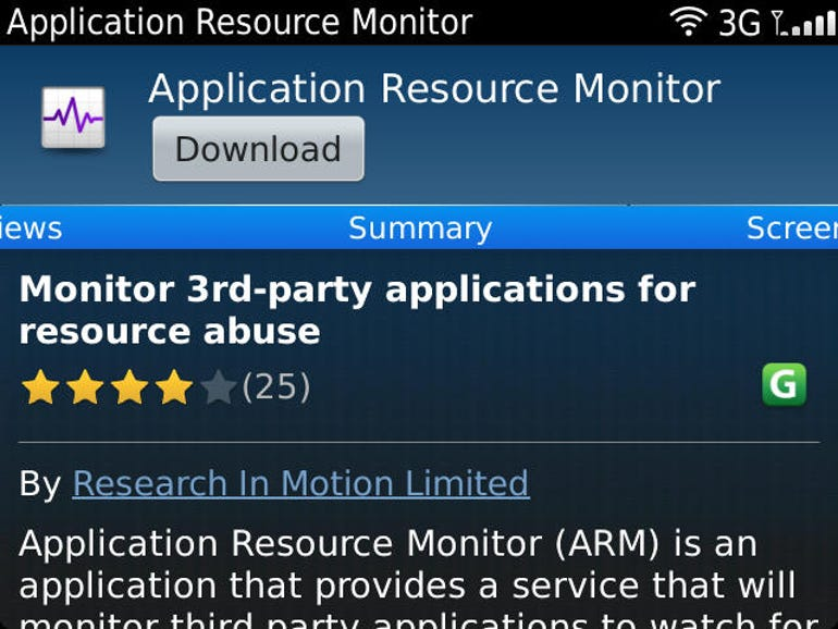ARM in appworld