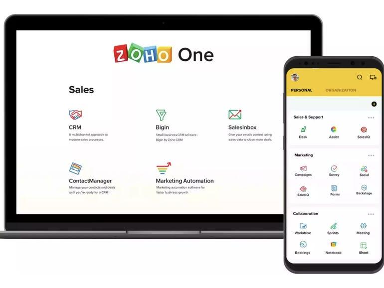 Zoho One gets analytics, UI, platform, app enhancements