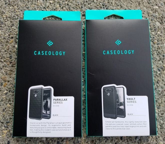 Caseology Parallax and Vault cases for the LG G6