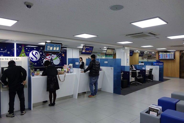 South Korean banks, 2013