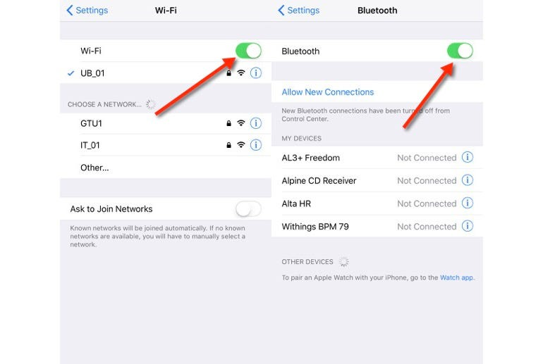 How to really turn Wi-Fi and Bluetooth off