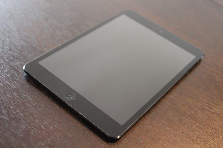 iPad mini: Front