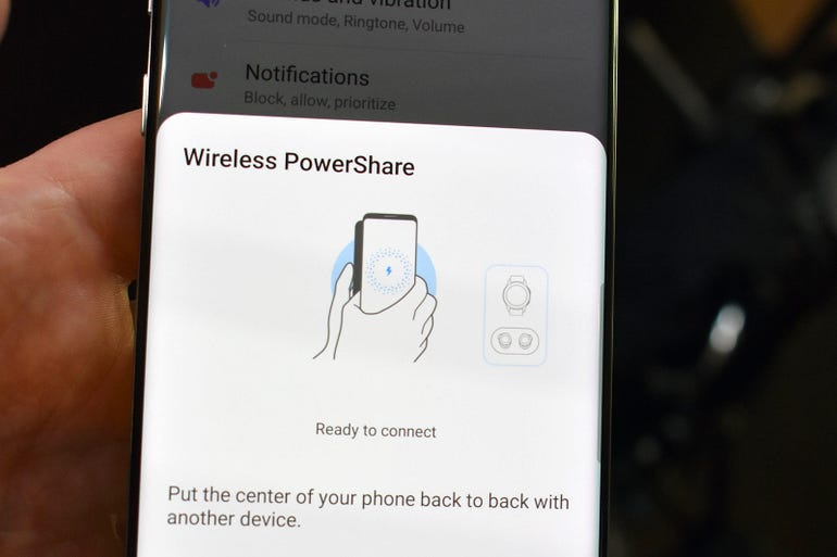 This is how easy it is to set up reverse charging