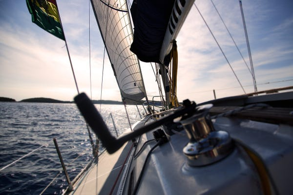 Sailboats and robots: The new data collection platform