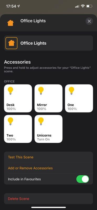 Using Apple's Home app