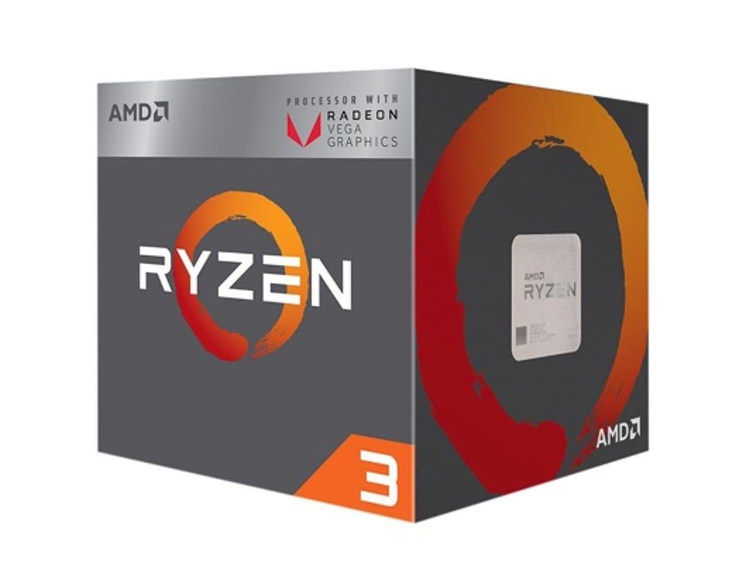AMD Ryzen 3 2200G quad-core 3.5GHz