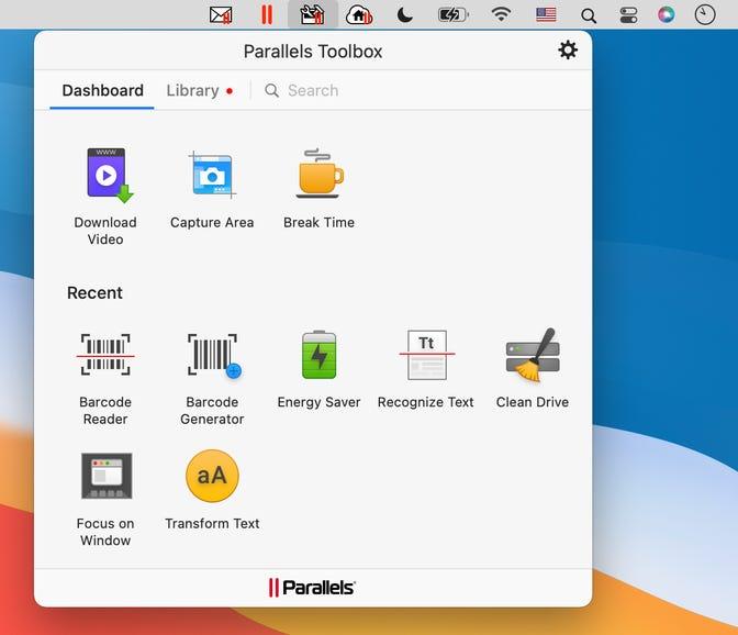Mac Dashboard