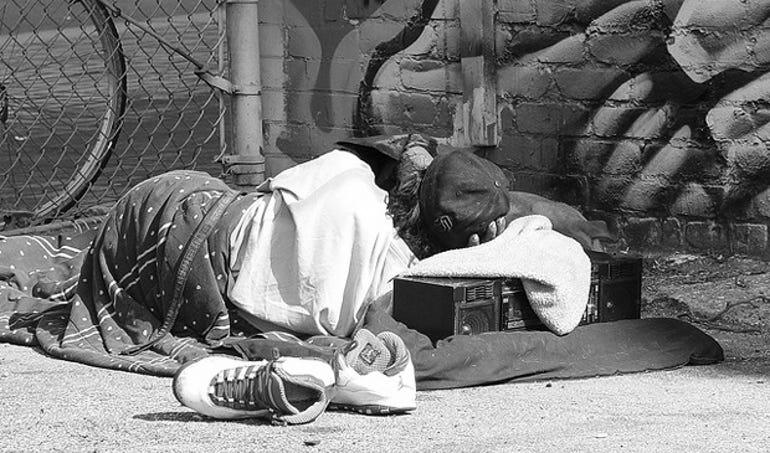 homeless social networking study