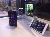 Lenovo teases flexible screen technology as well as wraparound phones