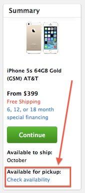 Apple iPhone availability tracker - Jason O'Grady