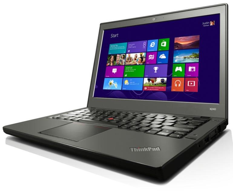 ThinkPad X240 side profile