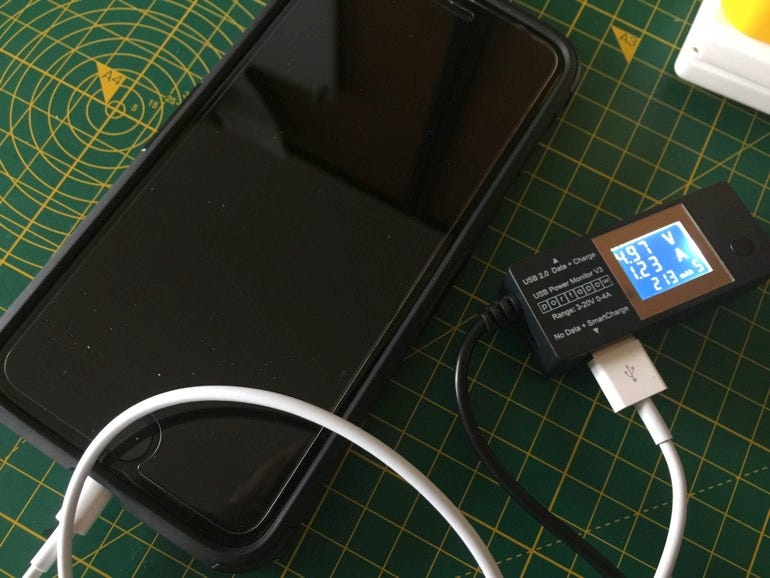 Charging using high-power USB charger