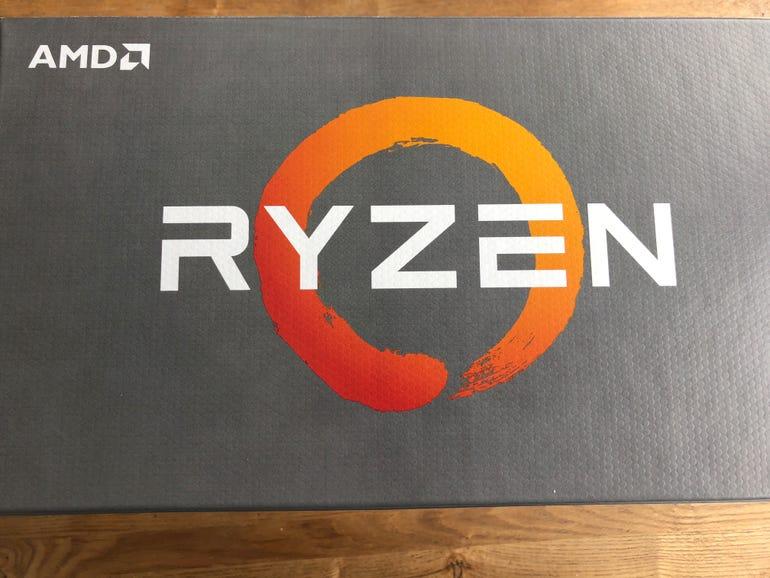 2nd generation AMD Ryzen unboxing