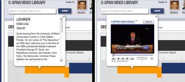 C-SPAN Debate Hub timeline