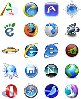How many Web browsers do you use, mate?