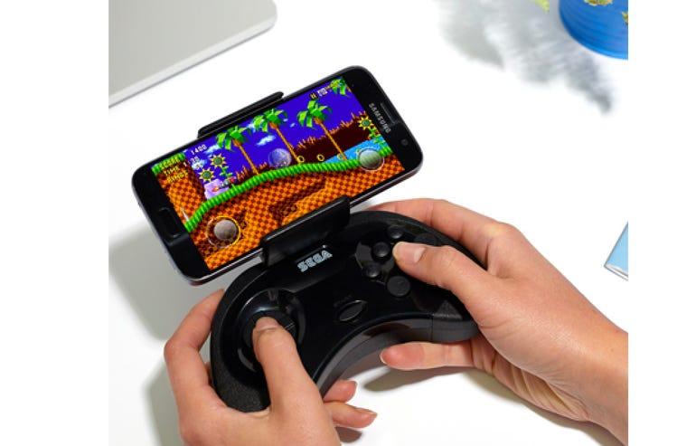Sega Saturn smartphone controller
