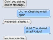 Texting: Worst messaging platform, ever