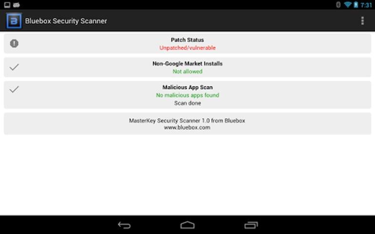 BlueboxSecurityScanner
