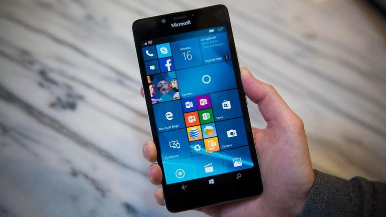 5.2 inch Microsoft Lumia 950