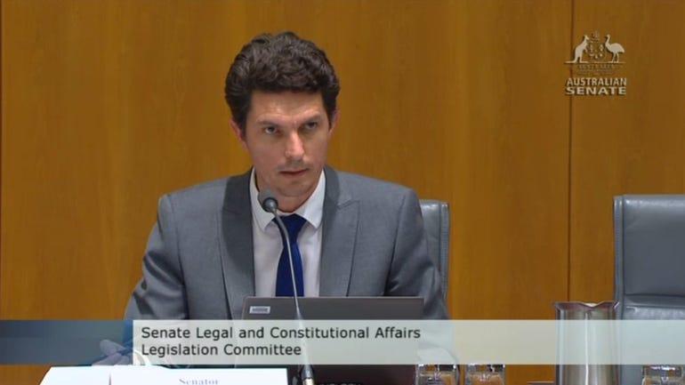 Greens communications spokesperson Scott Ludlam