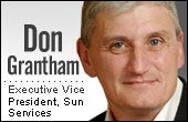Don Grantham, Sun Services executive vice president