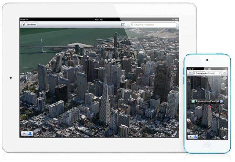 iOS 6 Maps: photo-realistic and interactive 3D views - Jason O'Grady