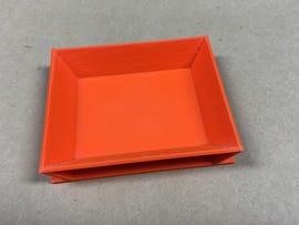 My small orange tray