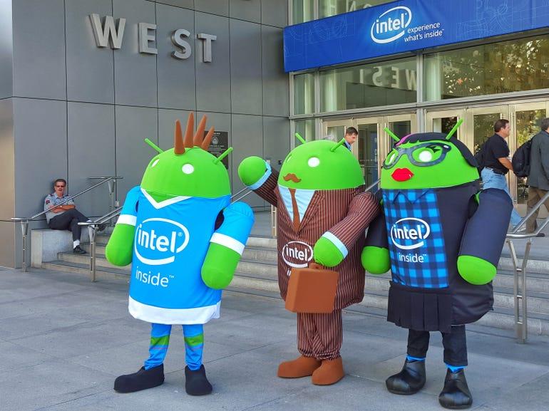 Intel and robots