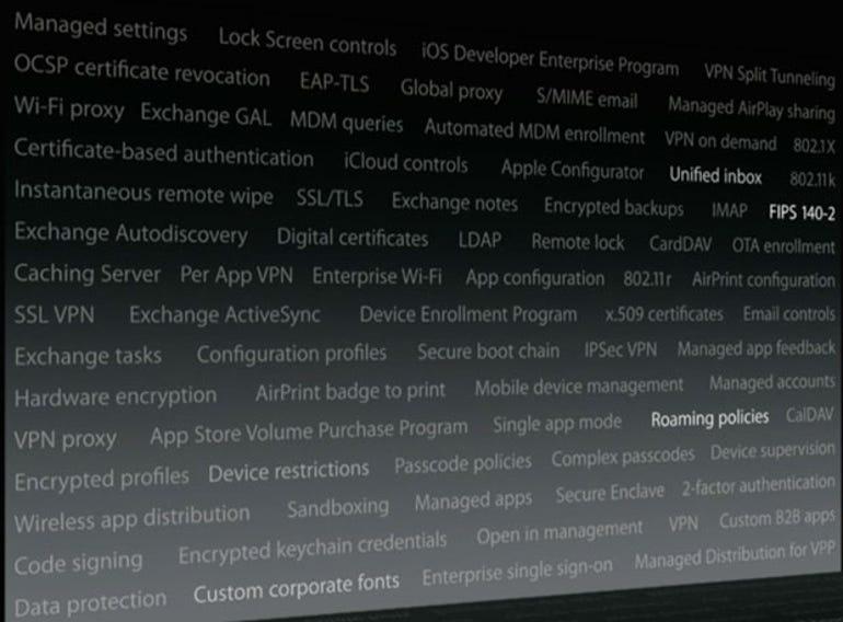 iOS enterprise manageability features - Jason O'Grady
