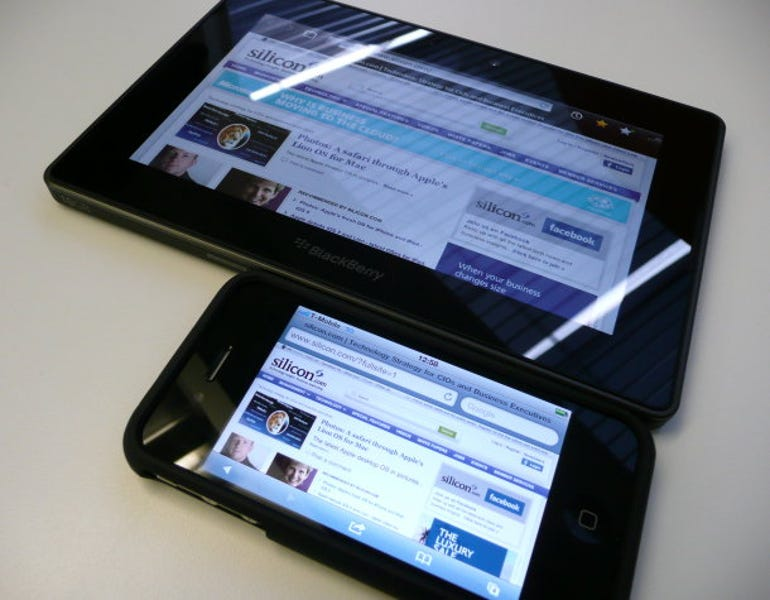 PlayBook vs iPhone: Which gadget is more handy?