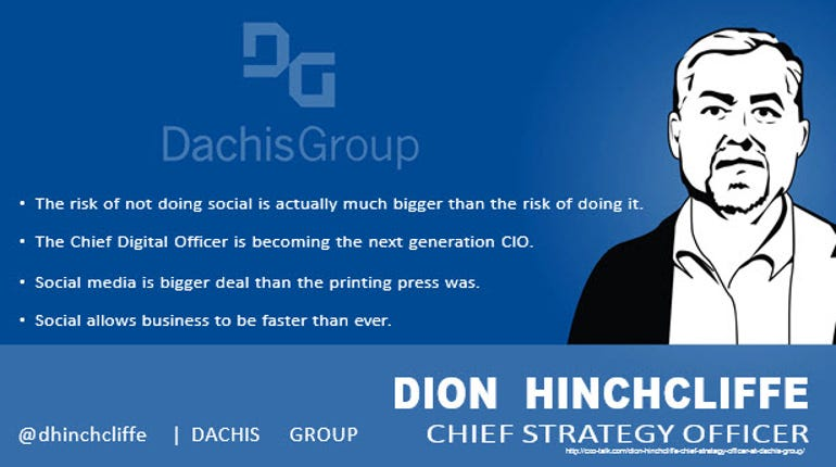 Dion Hinchcliffe, Chief Strategy Officer, Dachis Group