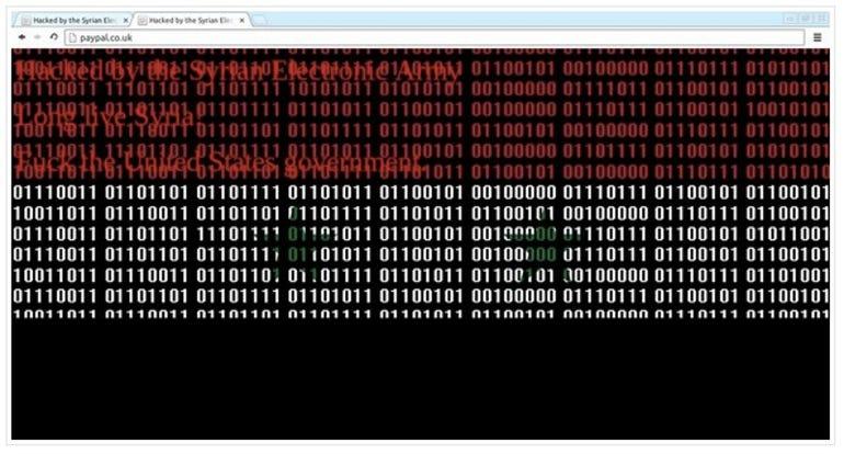 Syrian PayPal eBay hacked
