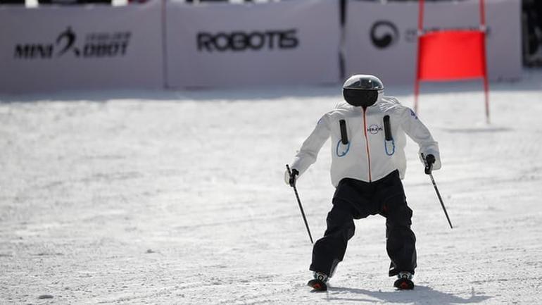 Robots can ski ... kinda