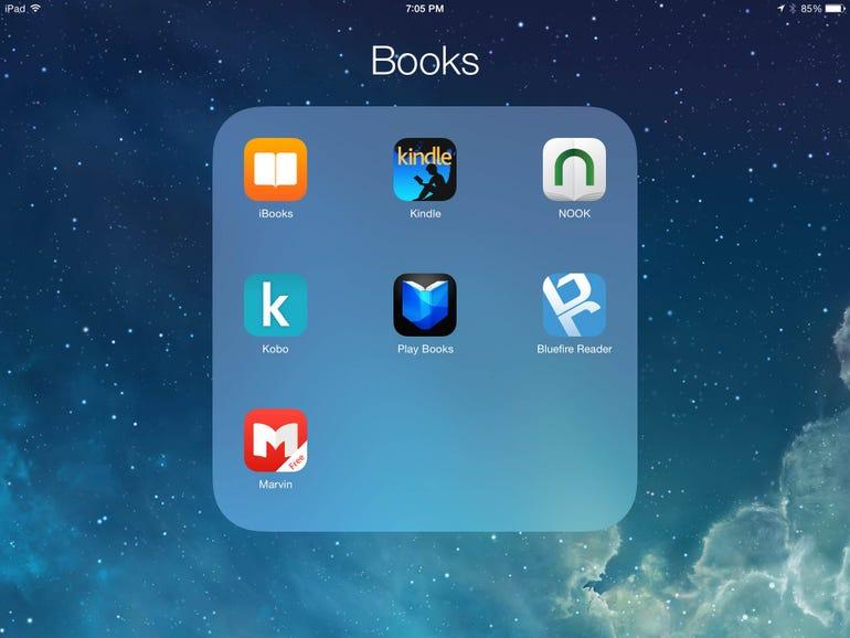 Top ebook reader apps for iPad