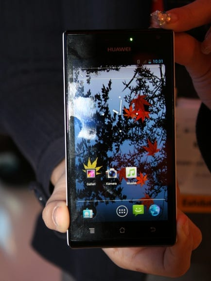 Huawei Ascend P1S front