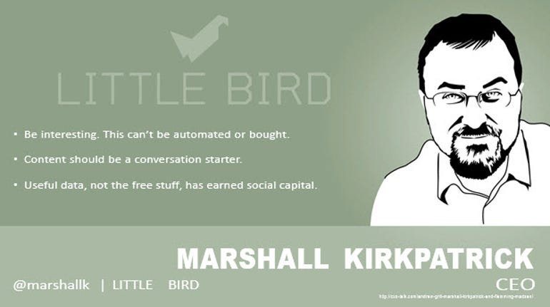 Marshall Kirkpatrick, CEO, Little Bird