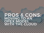 Understanding the pros and cons of moving to an OPEX model with the cloud