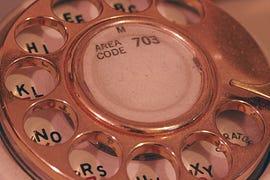 Rotary dialler