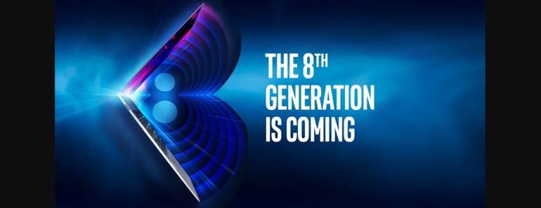 8th-generation Intel Core processors unveiling next week