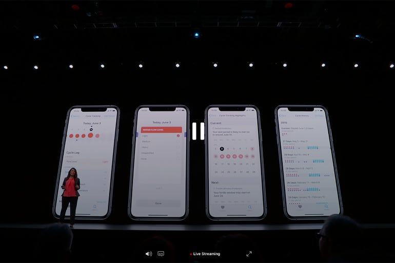 WWDC 2019: WatchOS 6 brings women's health features