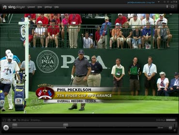Sling PRO-HD screengrab