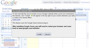 Use your Google Calendar offline soon