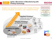 Ricoh plans to expand printing horizons, execute multi-year growth strategy
