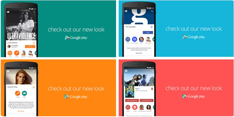 The new Google Play app